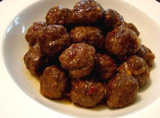 Chinese Spicy Orange Beef Meatballs Recipe