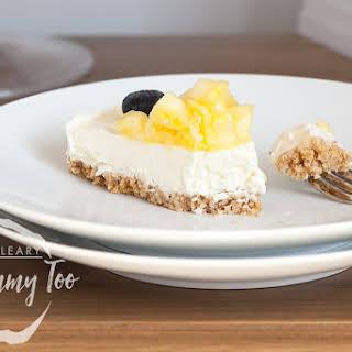 Extra Special No-bake Coconut Cheesecake.