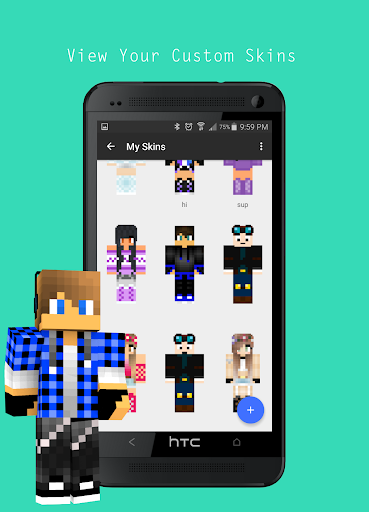how to download minecraft skins on mobile