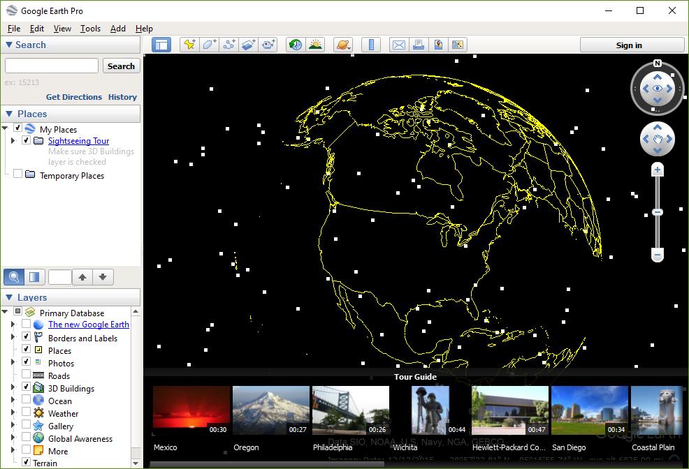 Google Earth Pro 7.3.0 Troubleshooting: globe/terrain not