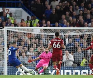 Eden Hazard a échangé quelques mots avec Daniel Sturridge après son but