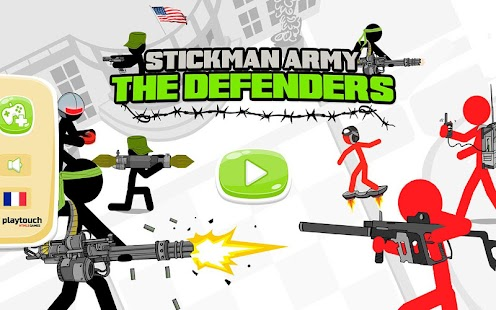 Stickman Army : The Defenders- screenshot thumbnail