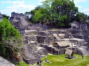 Photo: Ruins at Tikal