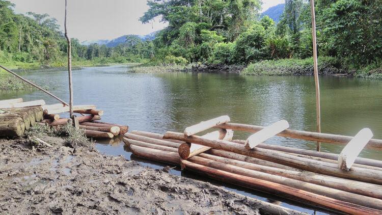 boatride manu national park peru amazon rainforest peru
