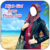 Hijab Girl Jeans Photo Suits