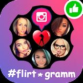 Tải Flirt nearby chat flirt #flirtogramm APK