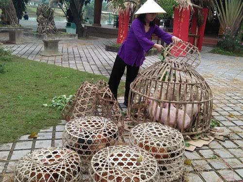 Phong Nha Kẻ Bàng tái hiện chợ Tết xưa 6