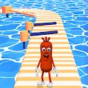 Wacky Sausage Game 2021: Fun Run Game icon