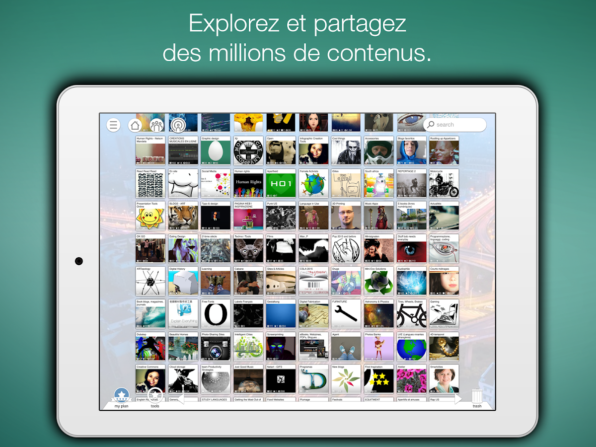 pearltrees � applications android sur google play