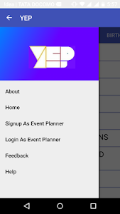 Your Event Planner screenshot 1