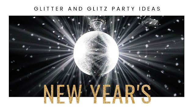 Glitter & Glitz - New Year's Template
