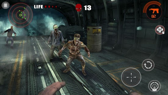 Zombie Empire- Left to survive in the doom city Screenshot