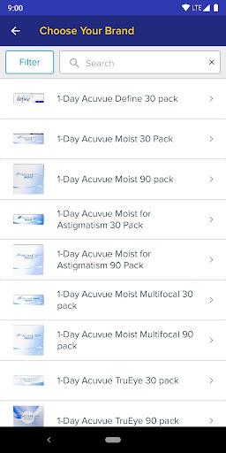 1800 Contacts - Lens Store 7.5.6 screenshots 2