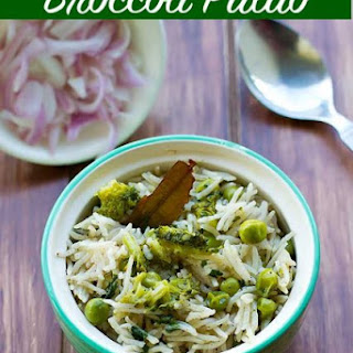 Broccoli Pulao Recipe - Broccoli Rice