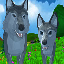 Wolf Simulator Wild Animals D Icon