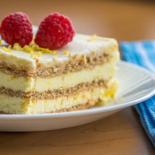 Lemon Icebox Cake.