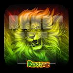 GO Keyboard Neon Reggae Rasta
