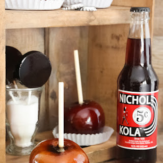 Cola Candy Apples