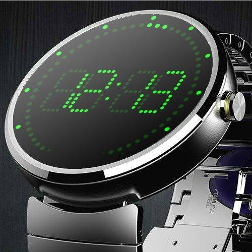 Led Clock Watch Face- screenshot