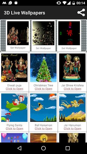 3D Hindu Religious Live Wlp