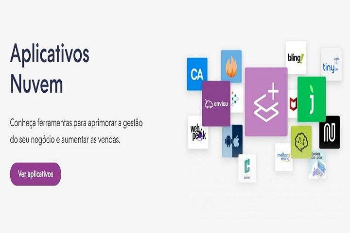 Plataformas para e-commerce Nuvemshop captura de tela