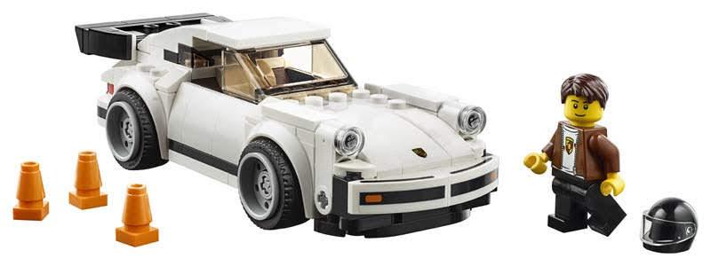 Contenido de Lego® 75895 1974 Porsche 911 Turbo 3.0