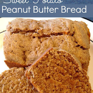 Whole Wheat Sweet Potato Peanut Butter Bread