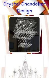 Křišťálový lustr design - náhled