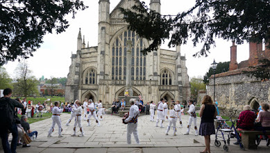 Photo: FOLLOWED BY TWO SETS FOR  'UPTON UPON SEVERN STICK DANCE'
