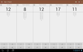 Screenshot of MTG Tracker & Life Counter