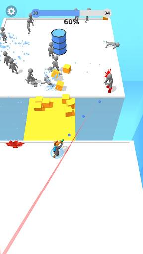 Paintman 3D - Stickman shooter  screenshots 4