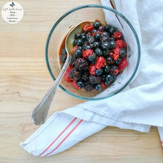 Macerated Triple Berry Topping