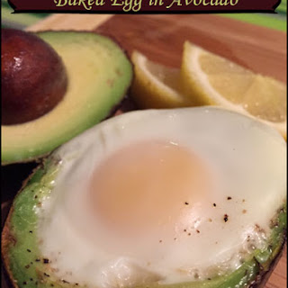 Baked Egg in Avocado Recipe – gluten-free and Paleo breakfast
