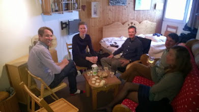 Photo: Visiting Emelie & Björn's cosy appartment.