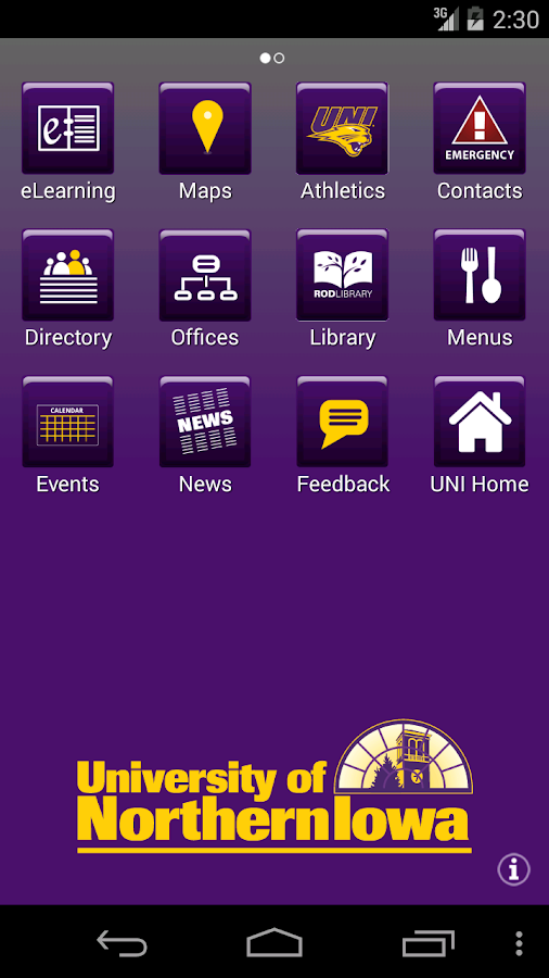 MyUNI- screenshot