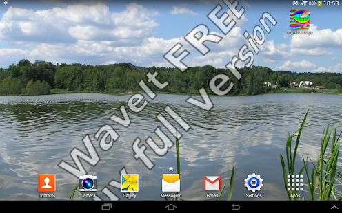 WaveIt Free Live Wallpaper screenshot