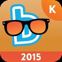 Zomerbingel 2015 kleuters icon