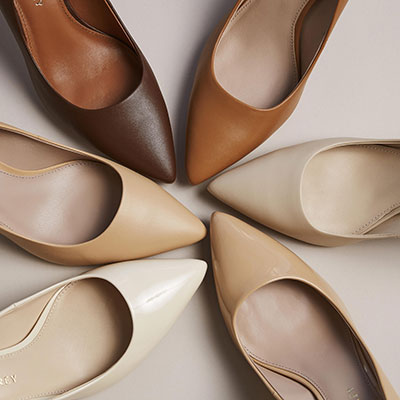 Find the perfect nude shoe for your skin tone
