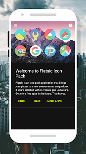 Flatsic - Icon Pack Screenshot