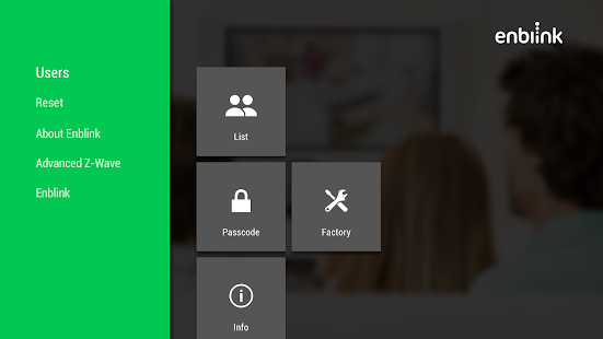 Enblink Settings for AndroidTV - náhled