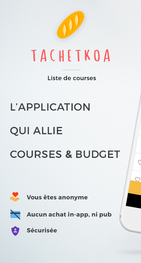 TachetKOA - Liste de courses- screenshot