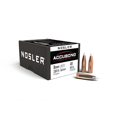 Nosler Accubond 8mm 200gr 50st