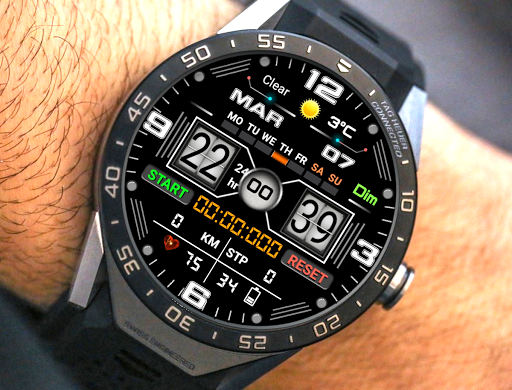 Screenshot for W101 Watch Face For WatchMaker Users in United States Play Store
