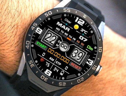 W101 Watch Face For WatchMaker Users Screenshot