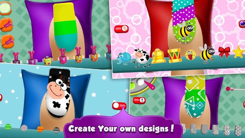android Kitty Nail Salon Screenshot 6