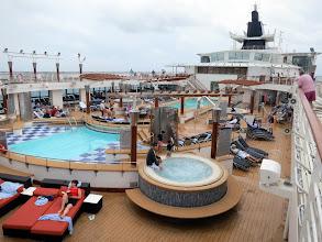 Photo: Deck 10 - Pool deck