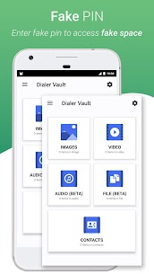 Dialer Vault – VaultDroid Hide Photo Video OS 10 App Download for Android 6