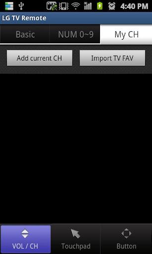 LG TV Remote 2011 screenshot 7