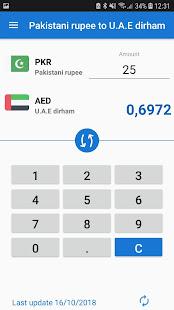 Pakistani Rupee UAE Dirham / PKR to AED Converter - náhled