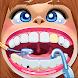 歯科医:歯の清掃と修復